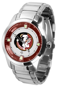 Florida State Seminoles Titan Watch - Stainless Steel Band