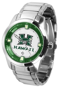 Hawaii Warriors Titan Watch - Stainless Steel Band