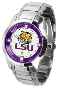 LSU Tigers Titan Watch - Stainless Steel Band