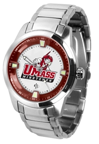 Massachusetts Minutemen Titan Watch - Stainless Steel Band