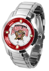 Maryland Terrapins Titan Watch - Stainless Steel Band