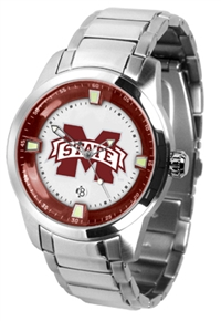 Mississippi State Bulldogs Titan Watch - Stainless Steel Band