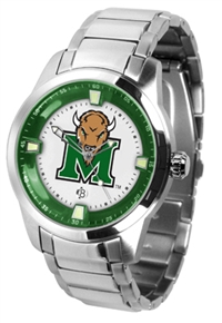 Marshall Thundering Herd Titan Watch - Stainless Steel Band