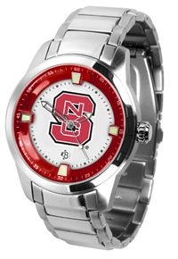 North Carolina State Wolfpack Titan Watch - Stainless Steel Band