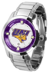 Northern Iowa Panthers Titan Watch - Stainless Steel Band