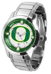 Oregon Ducks Titan Watch - Stainless Steel Band