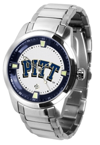 Pittsburgh Panthers Titan Watch - Stainless Steel Band