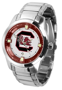 South Carolina Gamecocks Titan Watch - Stainless Steel Band