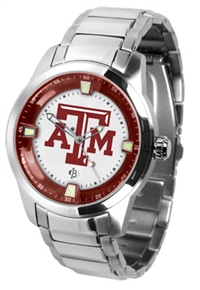 Texas A&M Aggies Titan Watch - Stainless Steel Band