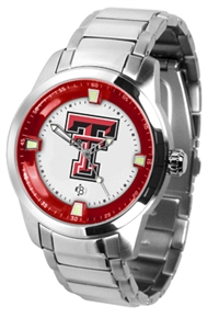 Texas Tech Red Raiders Titan Watch - Stainless Steel Band