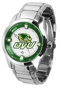 Utah Valley University Wolverines Titan Watch - Stainless Steel Band