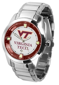 Virginia Tech HokiesTitan Watch - Stainless Steel Band