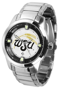 Wichita State Shockers Titan Watch - Stainless Steel Band