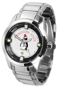 Youngstown State Penguins Titan Watch - Stainless Steel Band