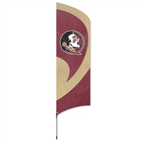 Florida State Seminoles Tall Team Flag with Pole