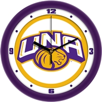 "North Alabama Lions UNA 12"" Wall Clock - Traditional"