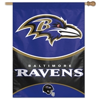 Baltimore Ravens NFL Vertical Flag (27x37)