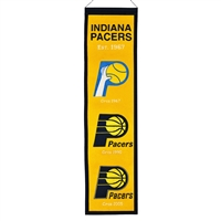 Indiana Pacers NBA Heritage Banner (8x32)