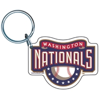 Washington Nationals MLB Key Ring