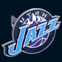 Large Logo-Only NBA Hitch Cover - Utah Jazz