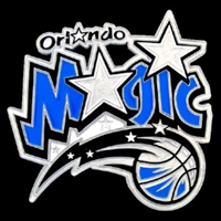 Large Logo-Only NBA Trailer Hitch Cover - Orlando Magic