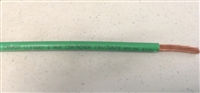 Davis RF 04THHN - 4 Gauge Copper Ground Wire with Green PVC Jacket