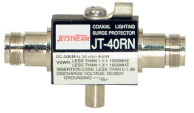 Jetstream JT40RN - Lightning Surge Protector DC-500MHZ 400 WATTS N Connector