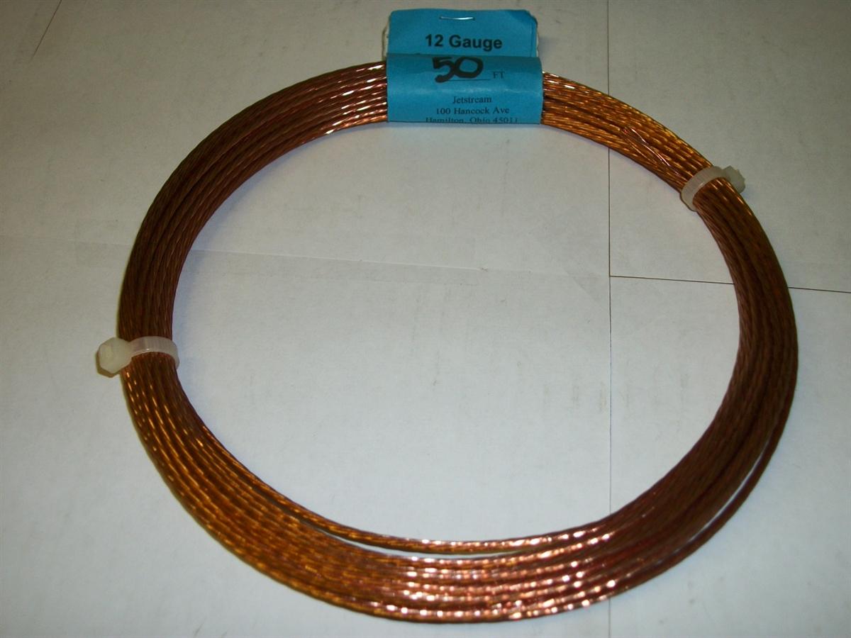 JETSTREAM JT12100 - 100FT NO 12 STRANDED COPPER ANTENNA WIRE