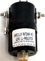 Unadilla W2AU LL-Transulator - Coax to Ladder Line Transition for G5RV Ham Radio Antenna