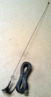 Workman Electronics KS1 2m/70cm Rare Earth Magnet Mobile Antenna with BNC Male Connector