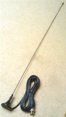 Workman Electronics KS2 2m Rare Earth Magnet Mobile Antenna with BNC Male Connector