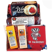 Badgers Tailgating Snack Pack Gift Basket