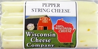 Pepper String Cheese 8 oz.  Case of 12