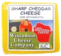 Sharp Cheddar Cheese Block 7.75 oz.