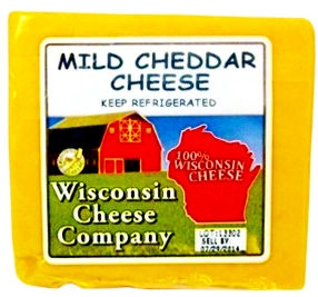 Mild Cheddar Cheese Blocks 7.75 oz.