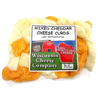 Mixed Cheese Curds 12 oz.