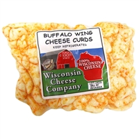 Buffalo Wing Cheese Curds 12oz.