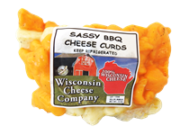 Sassy BBQ Cheese Curds 12oz.