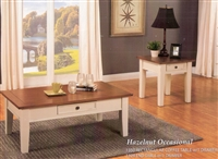 HAZELNUT OCCASIONAL TABLE