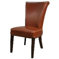 BENTLY LEATHER DINING CHAIR