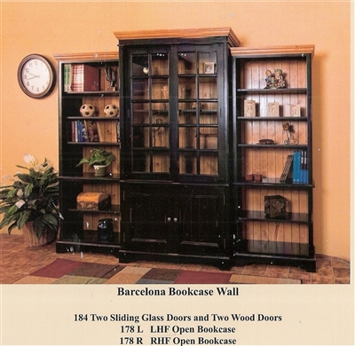 BARCELONA 3 PIECE WALL UNIT