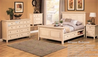 MANROE STORAGE BED