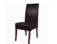 VALENCIA LEATHER DINING CHAIR