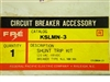 KSLMN-3 FPE  FEDERAL PACIFIC SHUNT TRIP KIT 120VAC / 48VDC; FOR NJL,NM,NN CIRCUIT BREAKERS