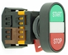 PB-22-GS-RS-CL-120V 22mm GREEN-START RED-STOP PUSH BUTTON