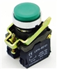 PBC-P22XTMO1-EG-11 REPLACEMENT FITS TELEMECANIQUE GREEN EXTENDED PUSH BUTTON MOMENTARY METAL 1NO 1NC