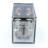 PBC-REM-1P16A-12VDC ICE CUBE GENERAL PURPOSE RELAY MINIATURE SQUARE BASE 8-BLADE 1PDT 16AMP 12VDC-COIL LY1 RH2B-U-AC120
