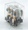 PBC-REM-3P10A-24VAC ICE CUBE GENERAL PURPOSE RELAY MINIATURE SQUARE BASE 11-BLADE 3PDT 10AMP 24V AC-COIL