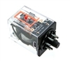 PBC-REP-2P10A-6DC-P ICE CUBE GENERAL PURPOSE RELAY OCTAL BASE 8PIN 2PDT 10AMP 6VDC-COIL  W/ PILOT AND RESET