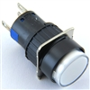 YC-16IMOM-YW-6 12V ILLUMINATED PUSH BUTTON